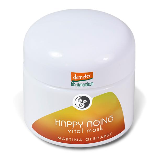 Martina Gebhardt happy aging vital mask
