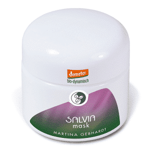 Martina Gebhardt salvia mask
