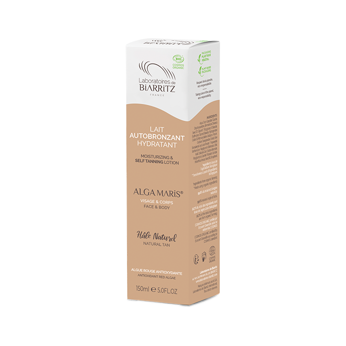 CERTIFIED ORGANIC FACE AND BODY SELF-TANNING-MILK 13