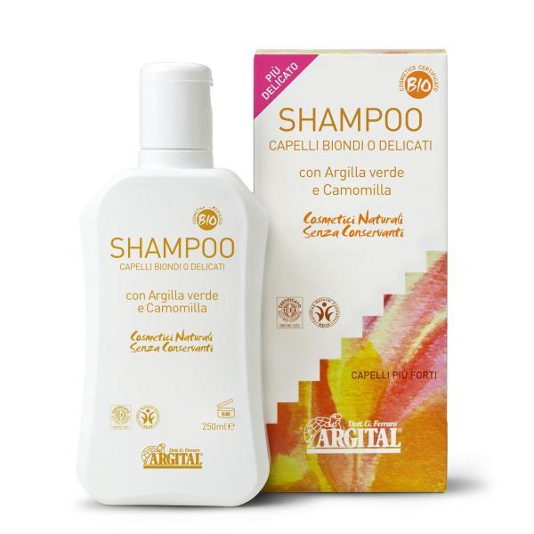 SHAMPOO FOR BLOND OR DELICATE HAIR 17