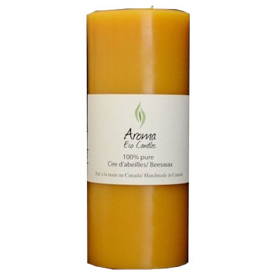 Aroma Eco Candles-Cylinder 3″x 7 1/4″ (105 hours) 1