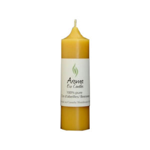Aroma Eco Candles-Cylinder 1.5″x 5.5″ (25 hours) 1