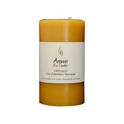 Aroma Eco Candles-Cylinder 3″x 5 1/4″ (80 hours) 3
